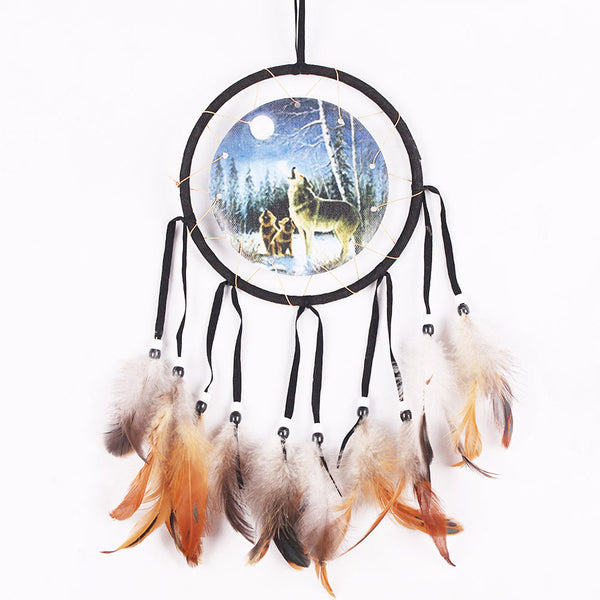 Dream Catchers - Dream Catcher Car /Wall Hanging Handmade Feather Decoration
