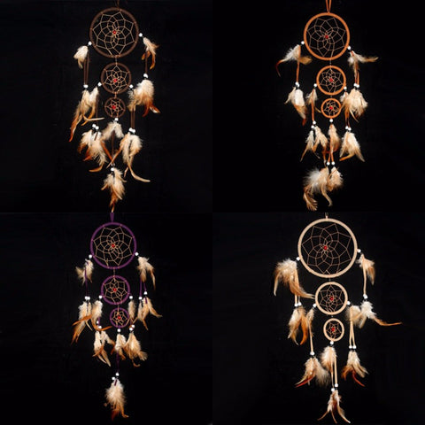 Dream Catcher Feather Long - Indo Wolf