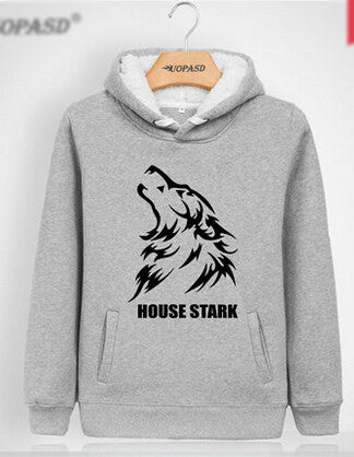 Game of Thrones House Stark Thick Winter Pullover - Indo Wolf