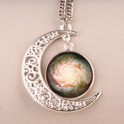 Jewelry - Handmade Crescent Moon Necklace