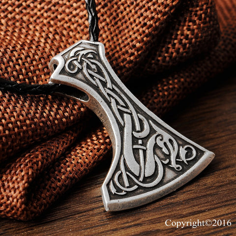 Axe Amulet Necklace - Indo Wolf
