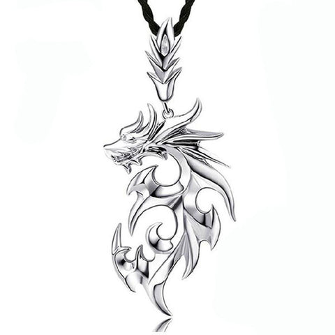 Dragon Shape Necklace - Indo Wolf