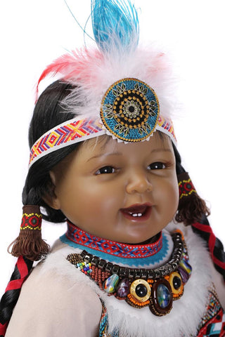 Native American Doll (52cm) - Indo Wolf