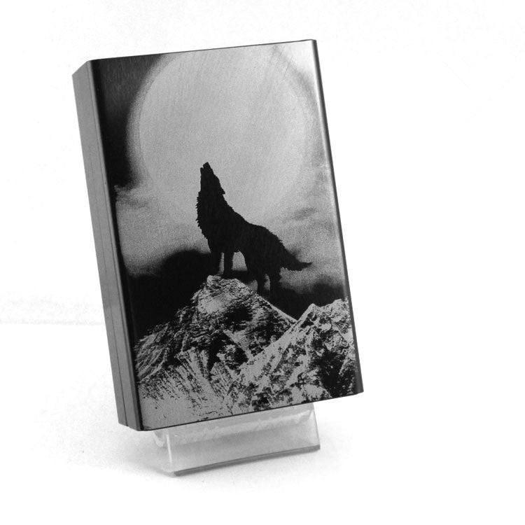 Moon Wolf Cigarette Case - Indo Wolf
