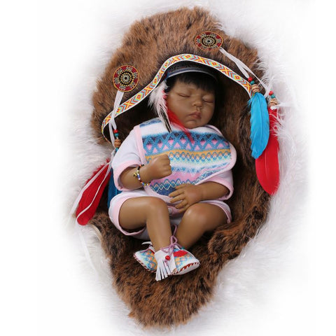 Native American Baby Doll - Indo Wolf