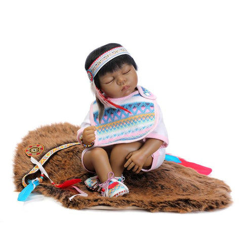 Native American Doll - Indo Wolf