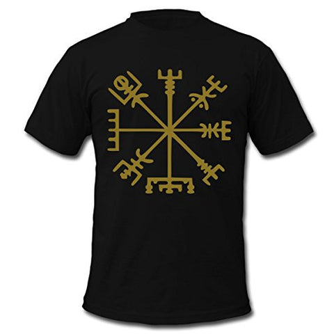 Vikings Compass T-Shirt - Indo Wolf