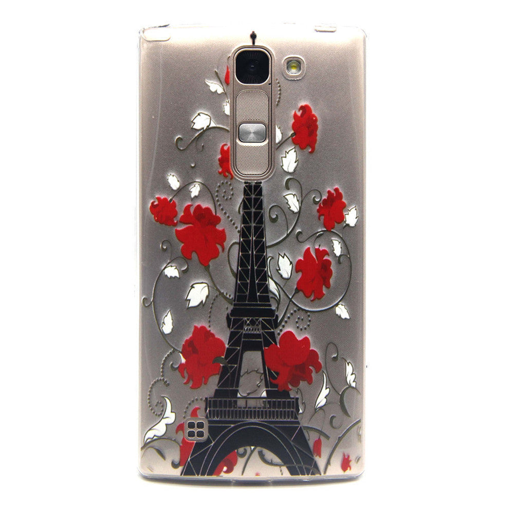 Transparent Phone Case Cover (For LG Spirit H422) - Indo Wolf