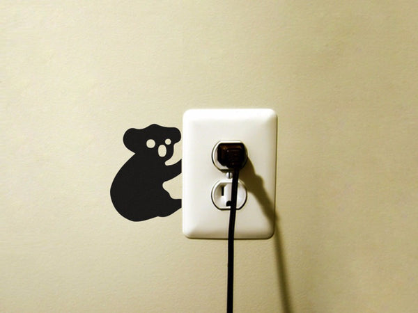 Animal Wall Sticker (Light Switch) - Indo Wolf