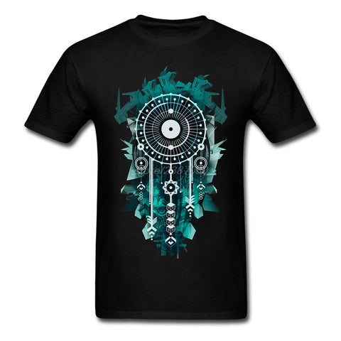 Dream Catcher Cotton T-Shirt - Indo Wolf