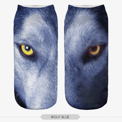 Wolf Eyes Casual Socks (2 Pairs) - Indo Wolf