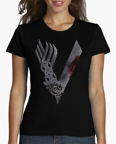 Vikings Logo T-Shirt (Women)