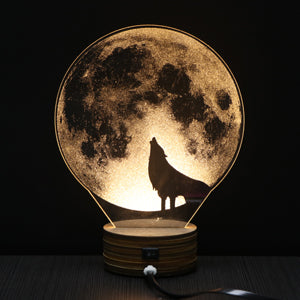 Bookcase Night Light (Great Gift!) - Indo Wolf