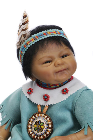 Native American Doll 42cm - Indo Wolf