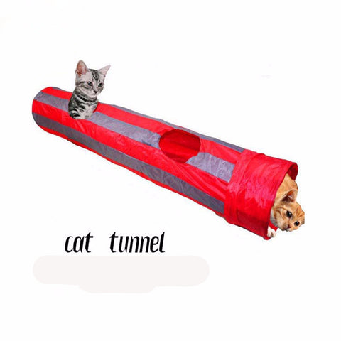Cat Play Tunnel Foldable - Indo Wolf