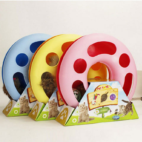 Cat Amusement Disk Toy - Indo Wolf