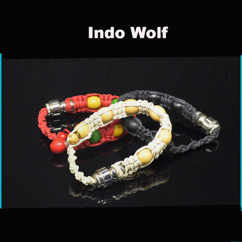 Bead Wristband Smoke Pipe - Indo Wolf