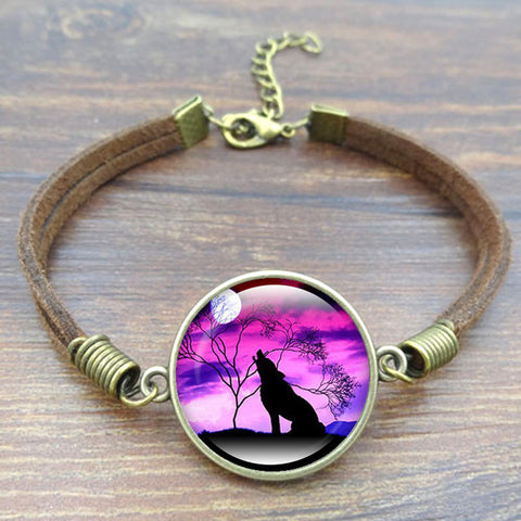 Howling Wolf Bracelet - Indo Wolf