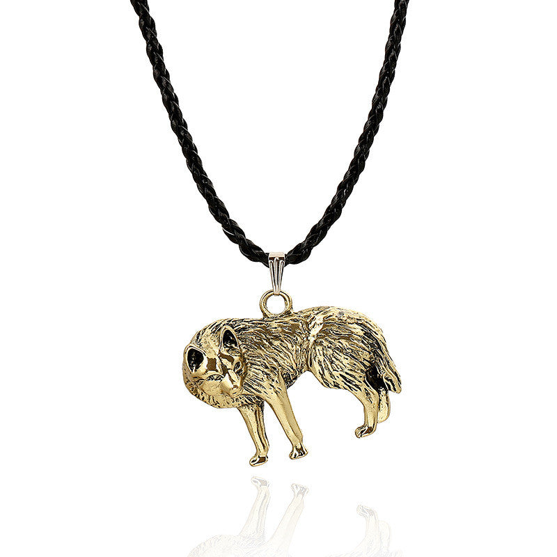Wolf Necklace - Wolf  Necklace