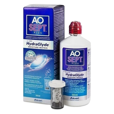 AOSEPT® PLUS with HydraGlyde® 360ml