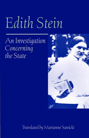 An Investigation Concerning the State (CWES, vol. 10)