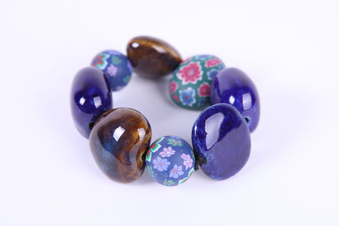 Woow Multi Colour Bead Bracelet