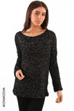 Bubblemania Shiny Knit Jumper
