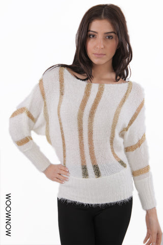 Lizzie Mesh Knit Party Jumper