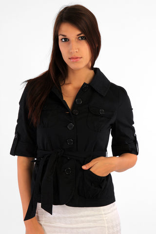 Trench Style Shirt