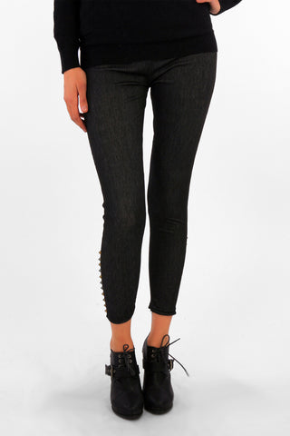 Stud Detail Jeggings