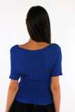 Cable Knitted Top