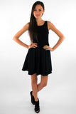 Club Fit and Flare Mini Dress