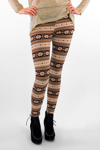 Christmas Thermal Leggings