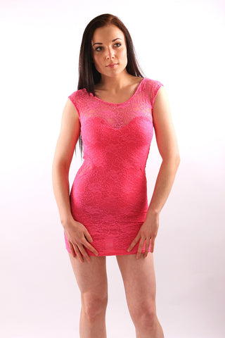 Alani Lace Mini Bodycon Dress