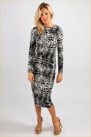 Belinda Long Printed Dress