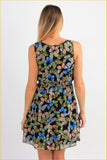 Butterflies Printed Mini Dress