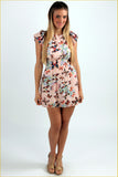 Butterflies Touch Mini Dress