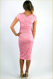 Barbie Girl Midi Dress