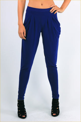 Plain Relaxed Pants