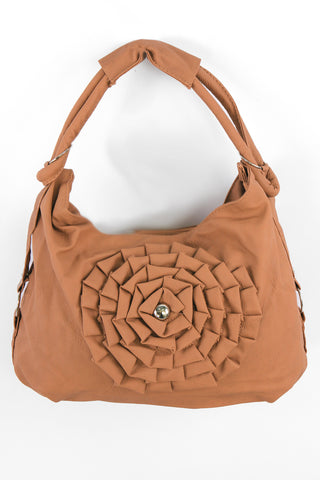 Appliqué Hobo Bag