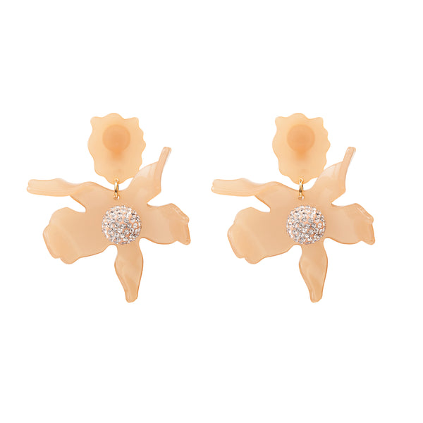 Lily Crystal Earrings