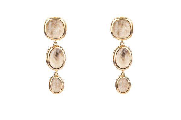 Goossens Three Drop Earrings