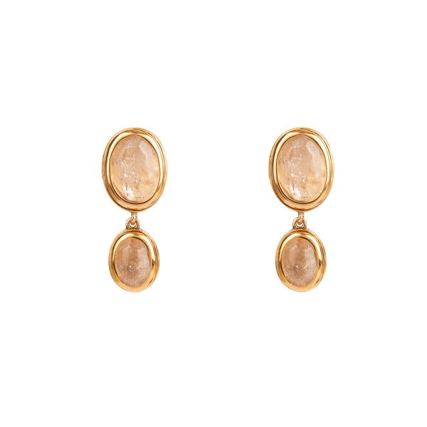 Goossens Paris Double Drop Earrings