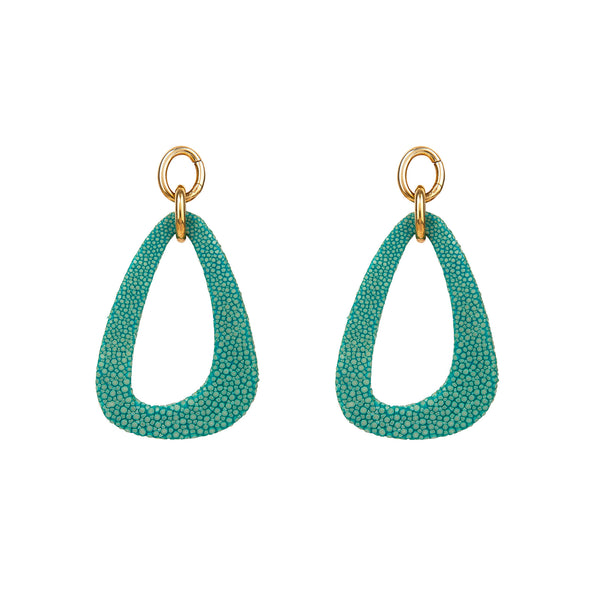 Stingray Open Drop Earrings