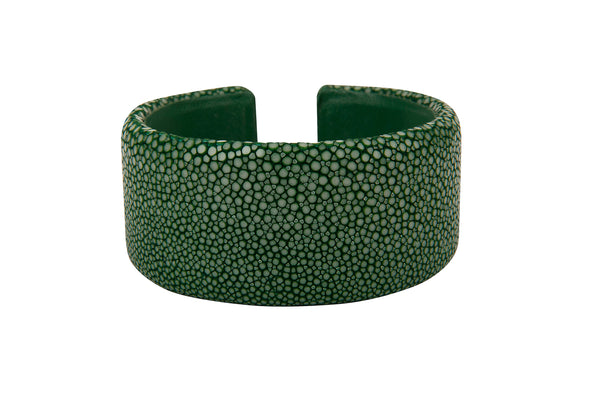 Stingray Cuff Green