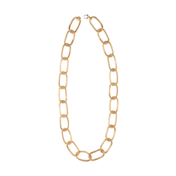 Mesh Link Chain Necklace