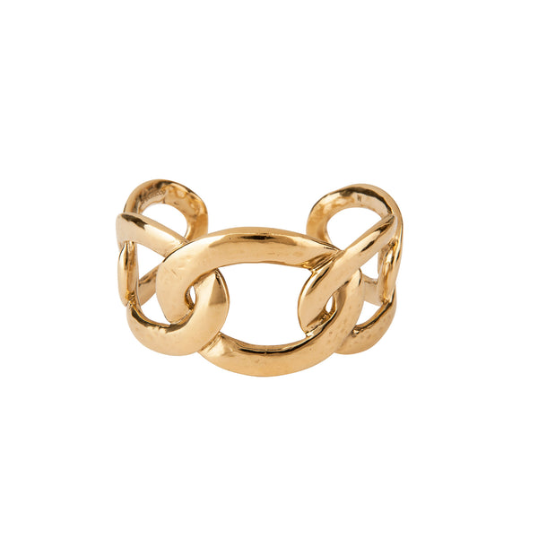 Goosens Gold Open Cuff