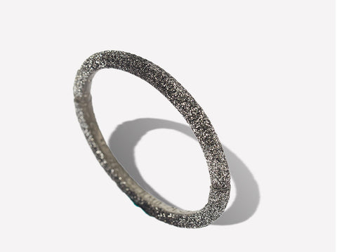 Black Ombré Sparkle Bangle