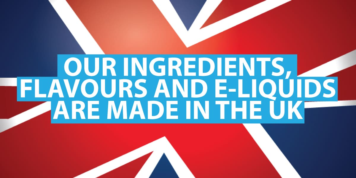 the e-liquids used in the SMOKO VAPE POD Refills are all made in the UK with the highest quality flavours and ingredients