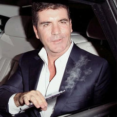 Simon Cowell using vape
